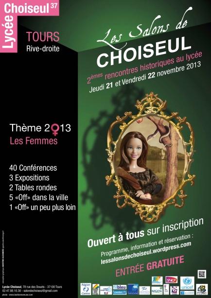 affiche 2013 Salons de Choiseul