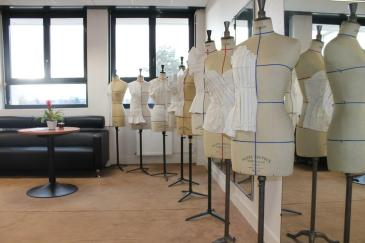 Les mannequins de la section Design de Mode