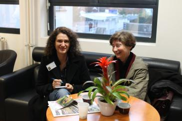 Sylvie MERCADAL et Marie-France MOREL