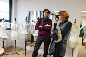 Stéphane GENET et Célia DROUAULT-MAGDELEINE