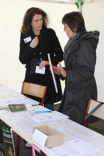 Sylvie MERCADAL et Maryse DELALEU